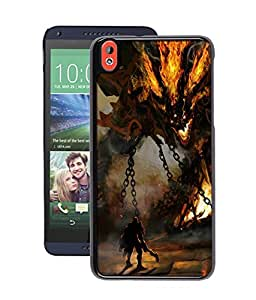 instyler DIGITAL PRINTED BACK COVER FOR HTC DESIRE 826