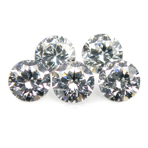 1.75 mm. / 5 Pcs. Diamond CZ High Quality And