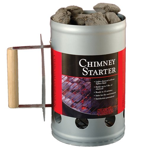 Charcoal Companion Silver Chimney Charcoal Starter (Chimney For Charcoal compare prices)