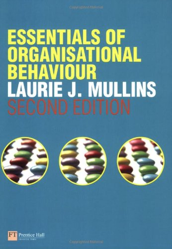 the essence of organizational behaviour Essence of decision illustrates that organisational capacities are fundamental in international policy making model ii also allows us to understand examples of how organizational behaviours shake the implementation of certain policies.