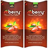 Mberry Miracle Fruit Tablets 2 Packages of 10
