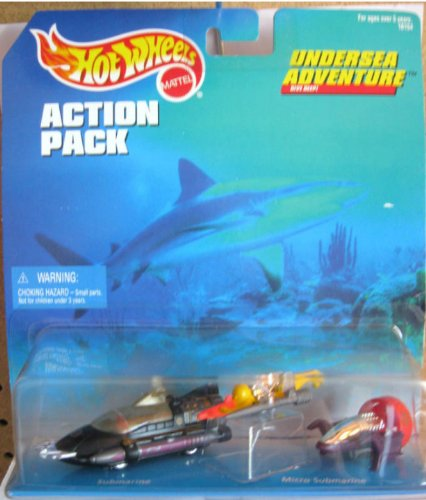Hot Wheels Action Pack - Undersea Adventure