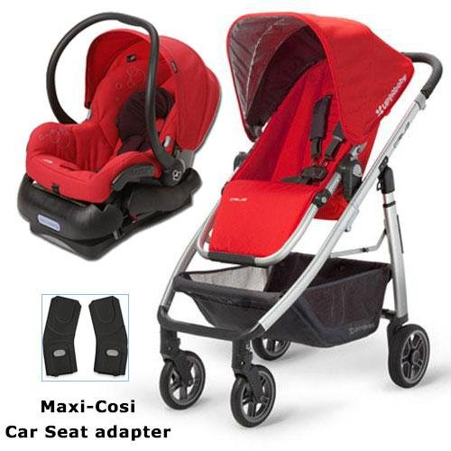 UPPAbaby 0071DNY Cruz Stroller with Matching Maxi-Cosi Car Seat and Adapter - Denny