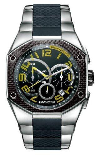Carrera Men's CW66441.47C042 Sporty Chronograph Black Watch