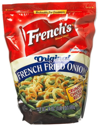 Buy French's Onion, French Fried, 24-Ounce Units (Pack of 3) (French's, Health & Personal Care, Products, Food & Snacks, Snacks Cookies & Candy, Snack Food)