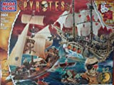 Mega Bloks 3604 Pyrates Black Sea Battle, 215 PCS