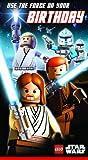 Lego LS016 Carte d'anniversaire Motif personnages Lego Star Wars