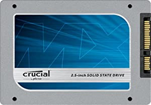 Crucial CT128MX100SSD1 128GB MX100 SATA 2.5 Inch 7mm SSD Includes 9.5mm Adapter