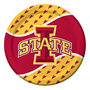 Buy Creative Converting Iowa State Cyclones Dinner Paper Plates (8 Count) by Creative Converting