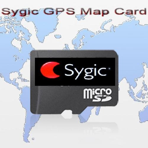 Original Brand Sygic GPS Map Card With 4GB TF Card Micro SD