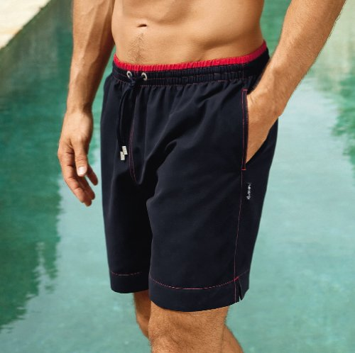 Mens JOCKEY Beachwear Swimwear Swim Short Graphite 2XL