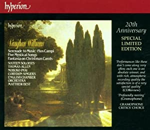 Williams: Serenade to Music / Five Mystical Songs / Fantasia on Christmas Carols / Flos Campi