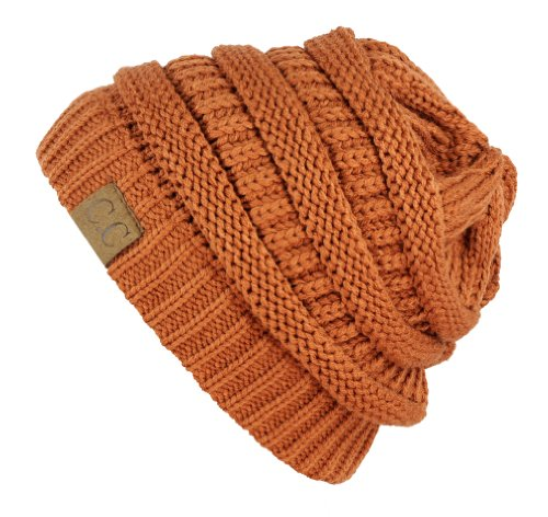 Trendy-Warm-Chunky-Soft-Stretch-Cable-Knit-Slouchy-Beanie-Skully-HAT20A