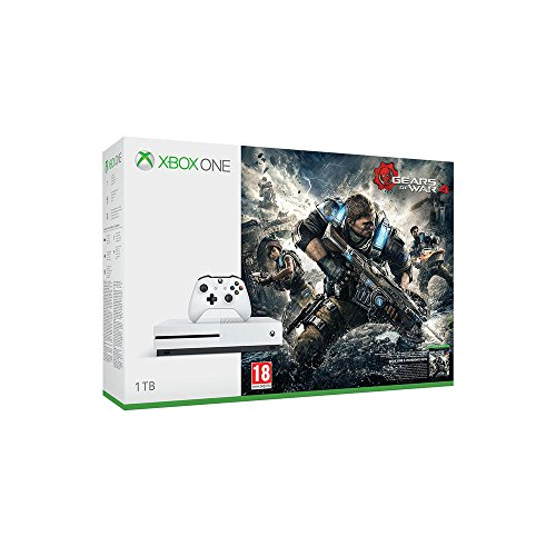 Pack Console Xbox One S 1 To + Gears of War 4