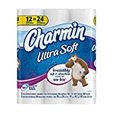 Charmin Ultra Soft Toilet Paper Double Rolls, 12 ct