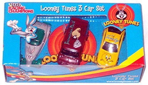 Looney Tunes 3 Car Set, Racing Champions