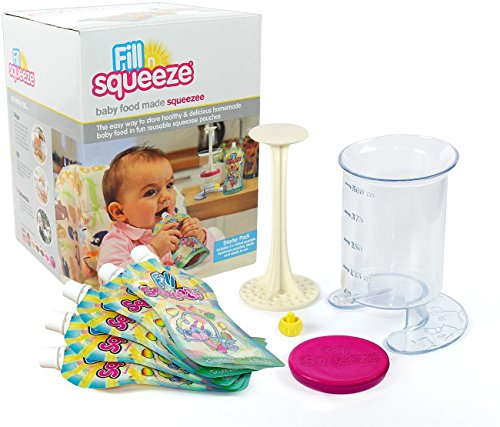 Fill n Squeeze Baby Weaning Set, Starter Pack - 1