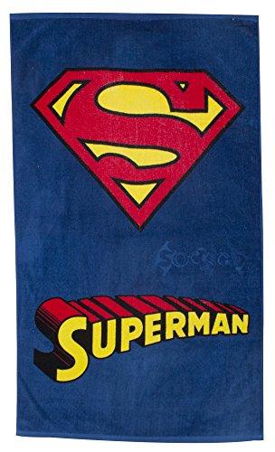 Logo Superman Telo mare in cotone