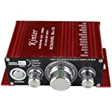Kinter 12V 2 CH Mini Digital Audio Power Amplifier For MP3 or Car