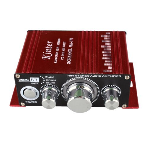 12V 2 Ch Mini Digital Audio Power Amplifier Amp For Hifi Mp3 Car