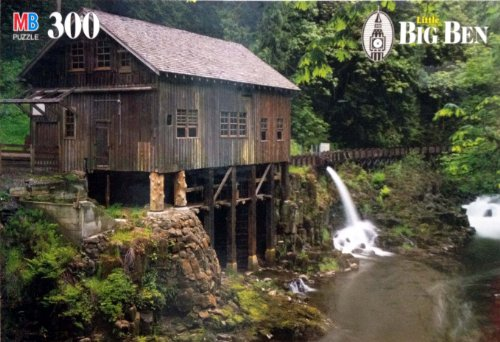 Big Ben Jigsaw Puzzle 300 Piece Cedar Creek Grist Mill near Woodland, WA - 1