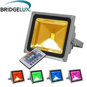 Projecteur led Projecteur LED extérieur 20W RGB Multicolore
