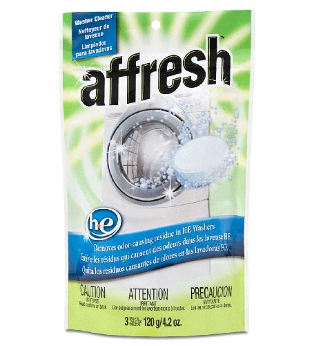 Whirlpool W10135699 Affresh High Efficiency Washing Machine Cleaner (3 Tablets) front-41639