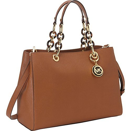 Michael Kors Handbag Cynthia Medium Satchel Luggage