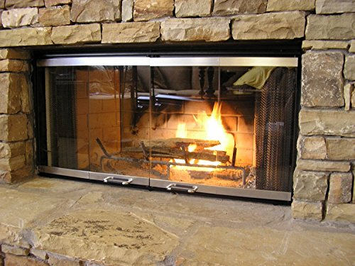 Heatilator Fireplace Doors - Stainless Steel 36