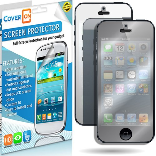 Coveron® Mirror Lcd Screen Protector Shield For Apple Iphone 5C