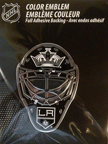 NHL Los Angeles Kings Mask Emblem, Black (Kings Emblem compare prices)