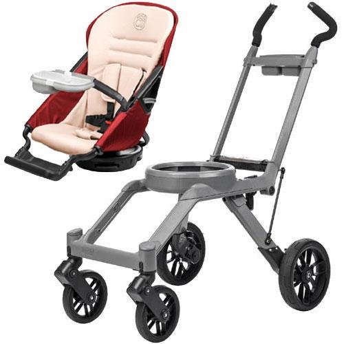 Orbit Baby G3 Basic Stroller - Seat And Frame Ruby front-296105