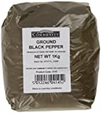 Community Foods Ground Black Pepper 1 Kg