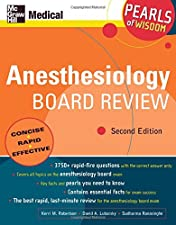 Anesthesiology Board Review Pearls of Wisdom 3 by Sudharma Ranasinghe