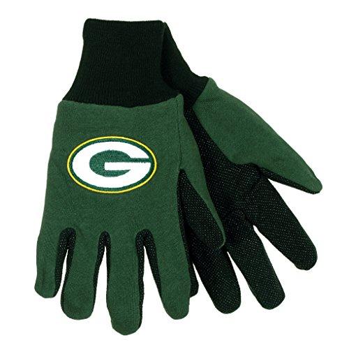 NFL Football Multi Color Team Logo Sport Gloves - Pick Team (Green Bay Packers) (Green Bay Packers Quad Chair compare prices)