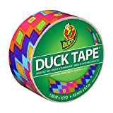 Duck Brand 283980 Printed Duct Tape, Ikat Fever, 1.88 Inches x 10 Yards, Single Roll