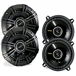 Kicker CS speaker package - Two pairs of Kicker CS Series 5 Coaxial 40CS54
