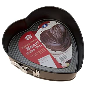 Heart Shaped Cake Tins : NON STICK 9