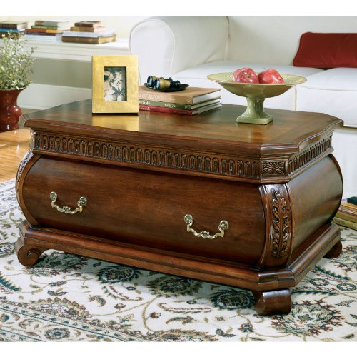 Cherry Wood Trunk Coffee Table: Buy Low Price Butler Heritage Bombe Trunk Table With Old