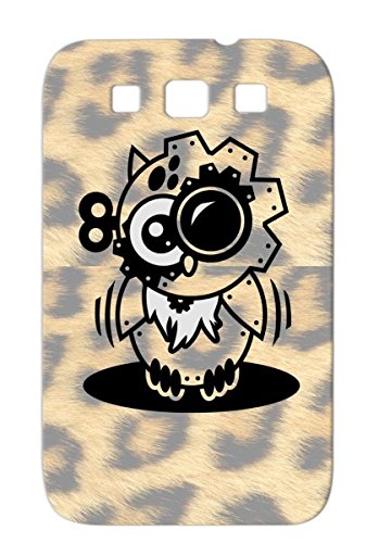 Victorian Baby Family Copper Child Owl Cartoon Machine Retro Steampunk Gears Bird Engineering Owl Willis Available Clothing Outfit Silver Tpu Case Cover For Sumsang Galaxy S3 front-159470