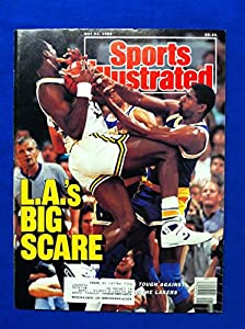 1988 Sports Illustrated May 23 Lakers vs Jazz - LA's Big Scare Los Angeles Lakers Near-Mint