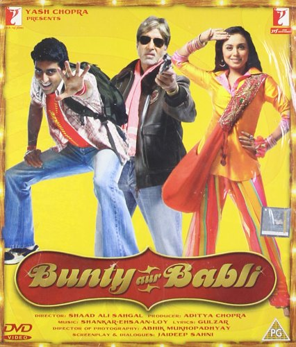 Bunty Aur Babli Bollywood DVD With English Subtitles