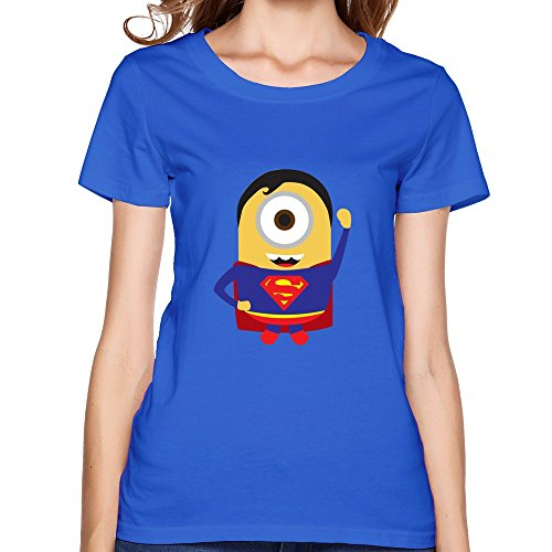 ZHUYOUDAO Women's Superman Despicable Me Minions Banana T-shirt