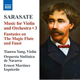 Sarasate: Music for Violin and Orchestra, Vol. 3