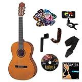Yamaha cgs102aii 1 2 size classical acoustic guitar bundle for Yamaha fg700s dimensions