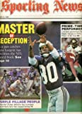 Sporting News December 18 1989 Steve Largent/Seattle Seahawks Cover, Minnesota Vikings Defense, Darian Hagen/Colorado Player of the Year, Cardiac Pack - Green Bay Packers at Amazon.com