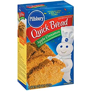 Pillsbury Quick Bread Mix (Apple Cinnamon 18.1oz)