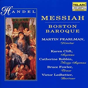 Cover of &quot;Handel - Messiah / Clift  Robb...