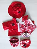 Red Raincoat teddy Bear clothes fit build a bear factory