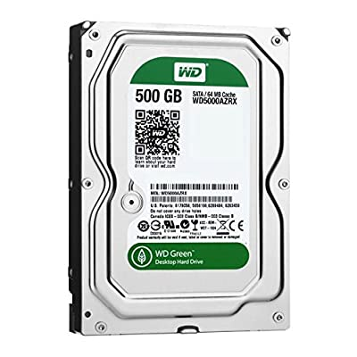 Westren Digital WD5000AZRX 500 GB SATA III Desktop Hard Drive (Green)
